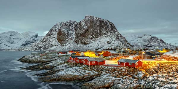 Norveç'te sağlık ve eğitim sisteminin kalitesi çok yüksek.