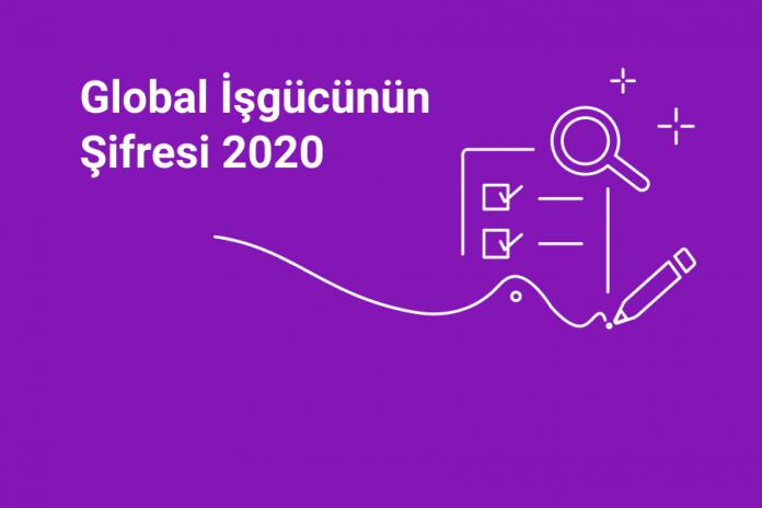 """""""Global İşgücünün Şifresi 2020"""" araştırmasıyla kendini keşfet!"""